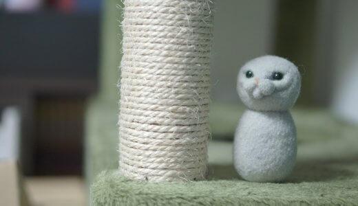 【実践してみた】羊毛フェルトでうちの猫を作ろう!難点や改善点も考察してみた